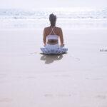 Yoga Photography In Cornwall